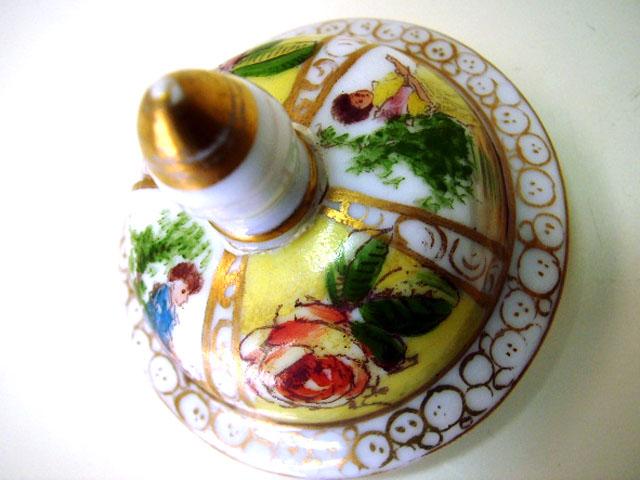 画像5: ドレスデン風 壺(小)