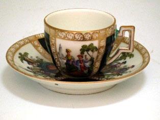 画像2: チョコレートカップ  マイセン・ドレスデン