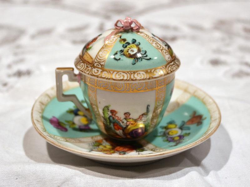 画像3: チョコレートカップ  マイセン・ドレスデン