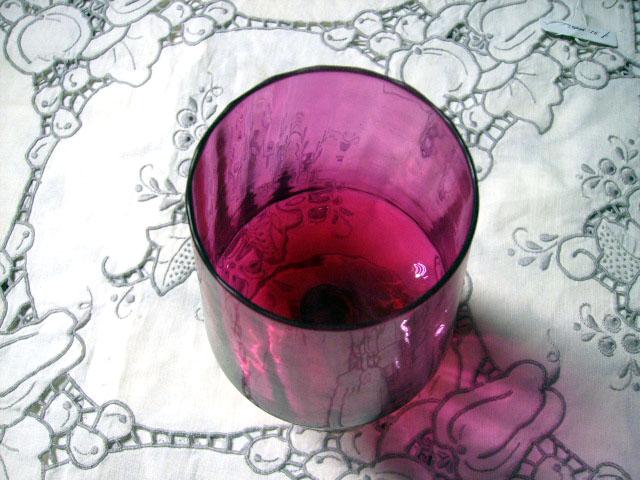 画像2: クランベリー グラス