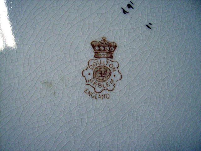 画像5: ロイヤルドルトン(Royal Doulton)  プレート 7点&コンポート 1点 セット