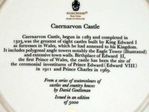 画像3: ウェッジウッド(Wedgewood) プレート Watercolours of Castles…