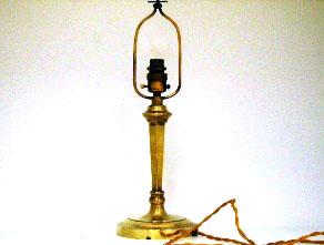 画像3: ランプ スタンド 真鋳 &シェード(No.340)