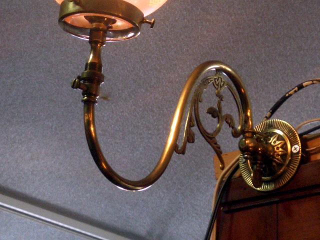 画像2: ウォールランプ ブラケット 真鋳