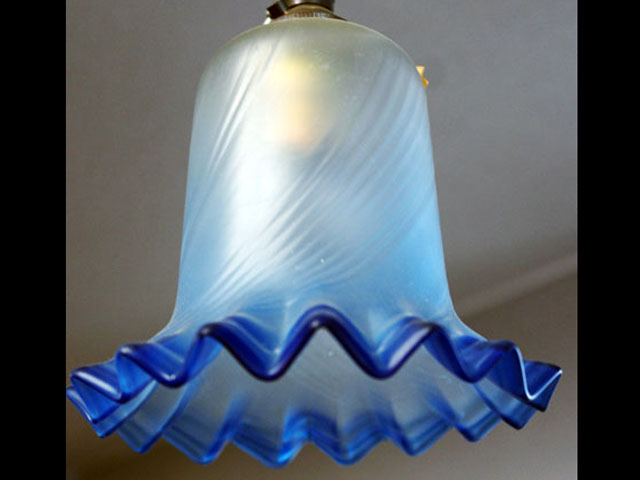 画像1: シェード ブルー・サテン