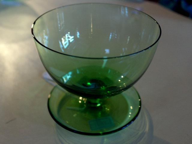 画像2: アイスクリームグラス グリーン (6個セット)
