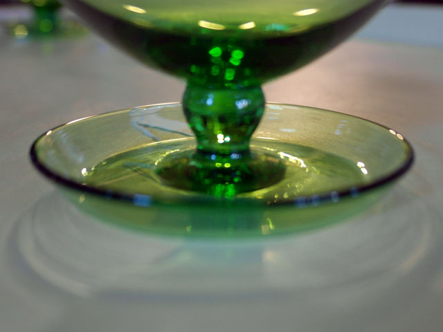 画像4: アイスクリームグラス グリーン (6個セット)