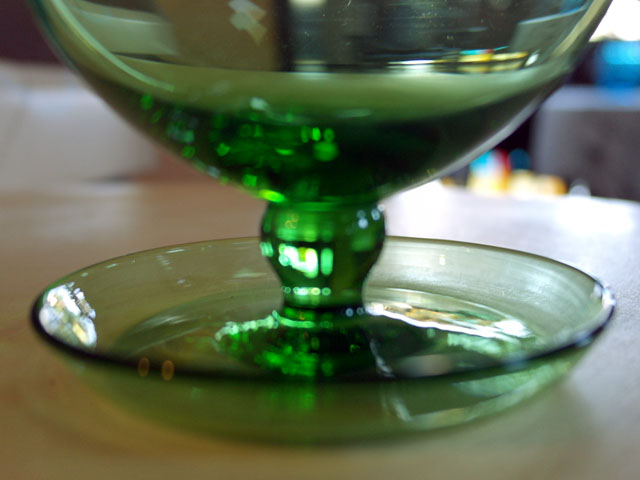 画像5: アイスクリームグラス グリーン (6個セット)