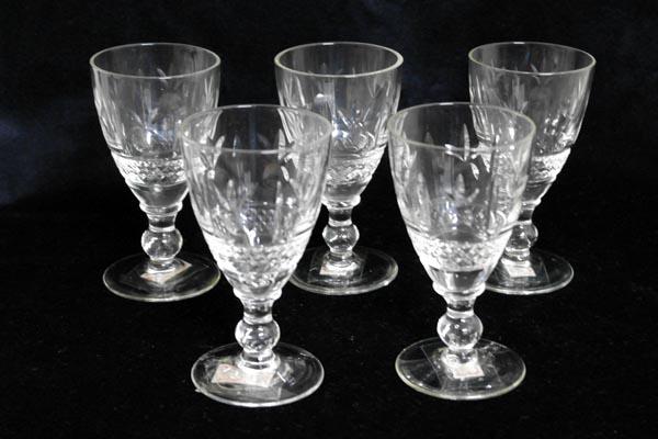 画像1: グラス 5客セット (84,85,86,87、88)