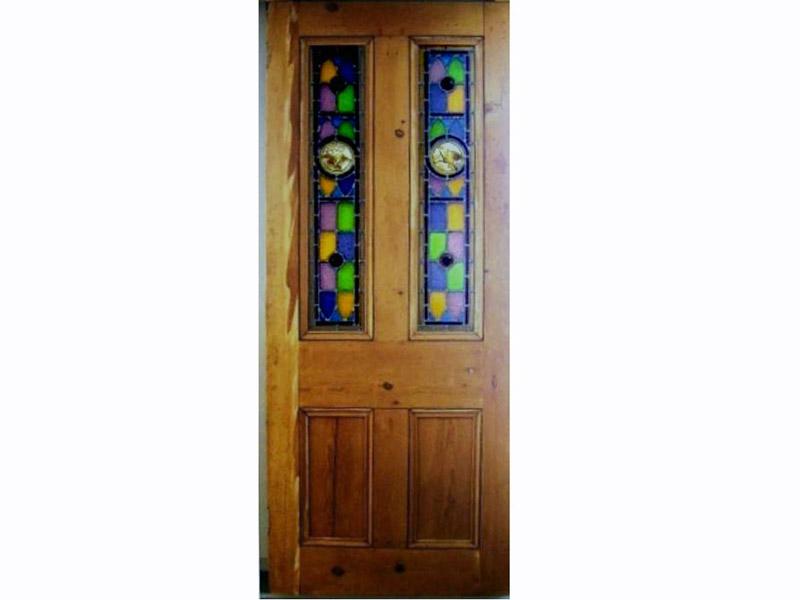 画像3: ステンドグラス ドア