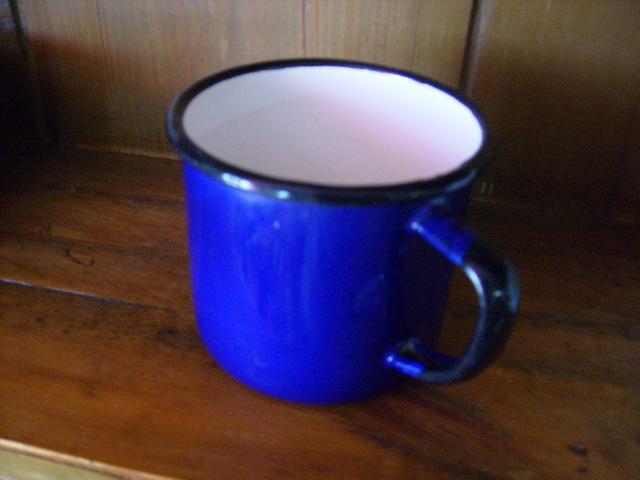 画像1: ホウロウ マグカップ