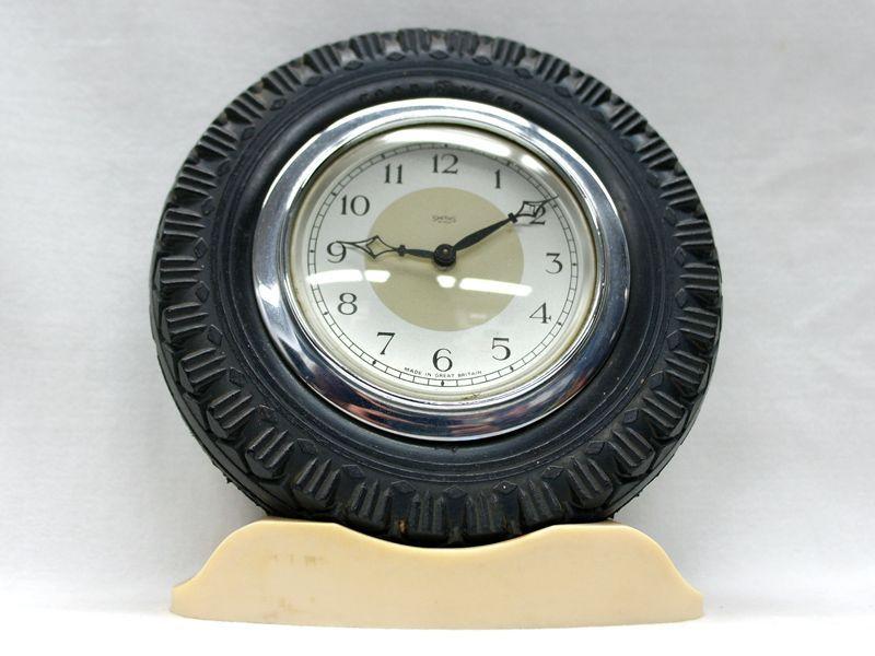 画像3: Smith 置時計(タイヤ型の枠)