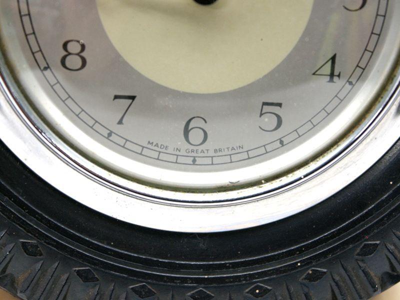 画像4: Smith 置時計(タイヤ型の枠)