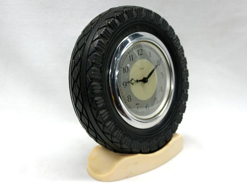 画像5: Smith 置時計(タイヤ型の枠)