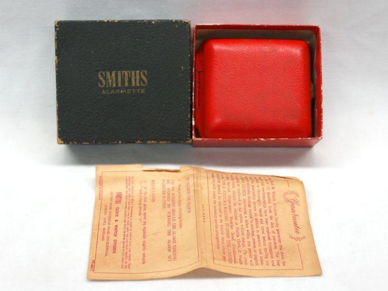 画像3: Smith 目覚まし時計(携帯用)