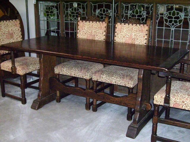 画像2: リフェクトリー テーブル オーク