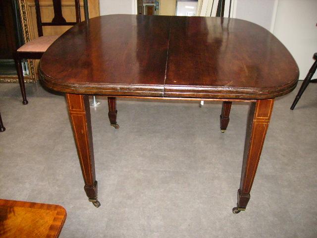 画像1: テーブル マホガニー