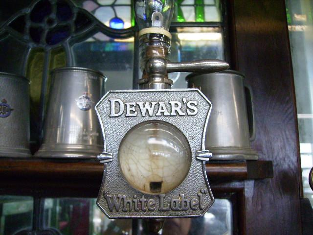 画像2: ウィスキーボトル・ホルダー&コック&プレート