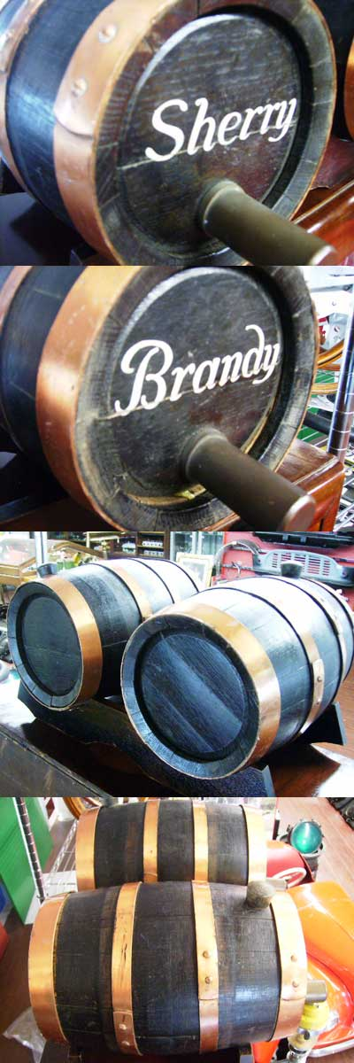 画像4: アンティーク 酒樽ミニ 3個セット