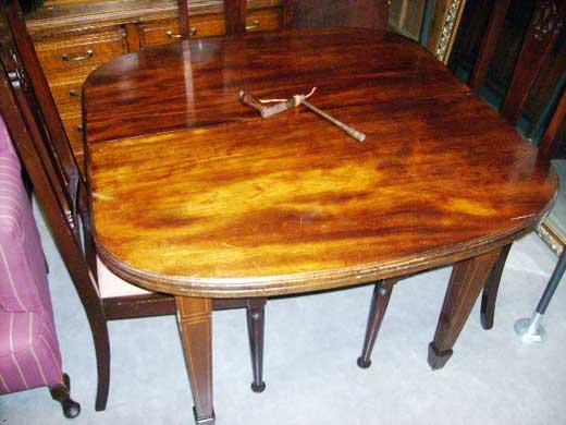 画像4: テーブル マホガニー