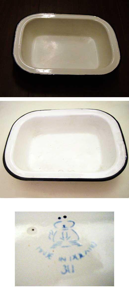 画像2: ホウロウ 食品バット