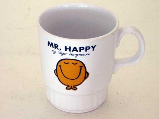 画像1: マグカップ Mr.Happy