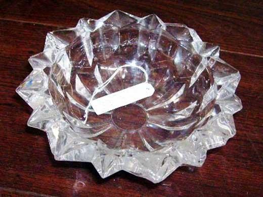 画像1: 灰皿 ガラス
