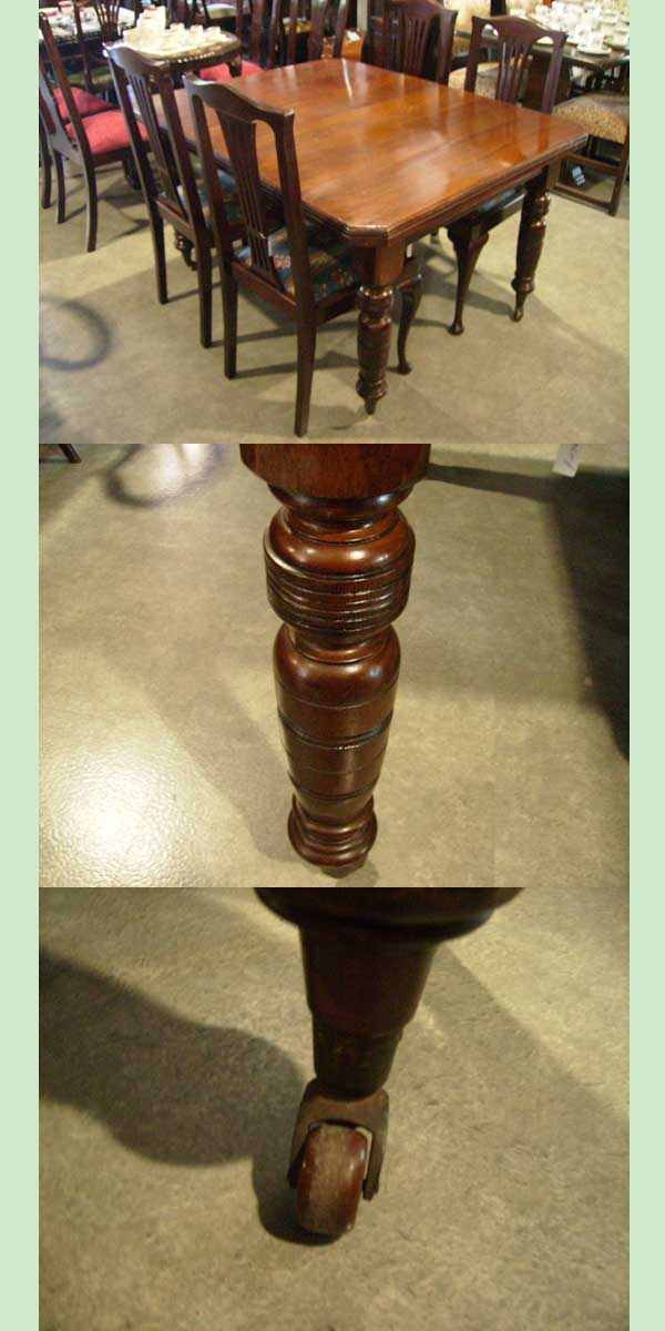 画像4: ダイニングテーブル マホガニー