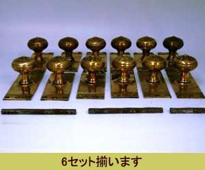 画像3: ドアハンドル 銅 ペア