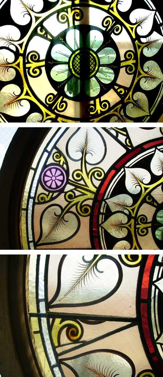 画像2: ステンドグラス 丸 大