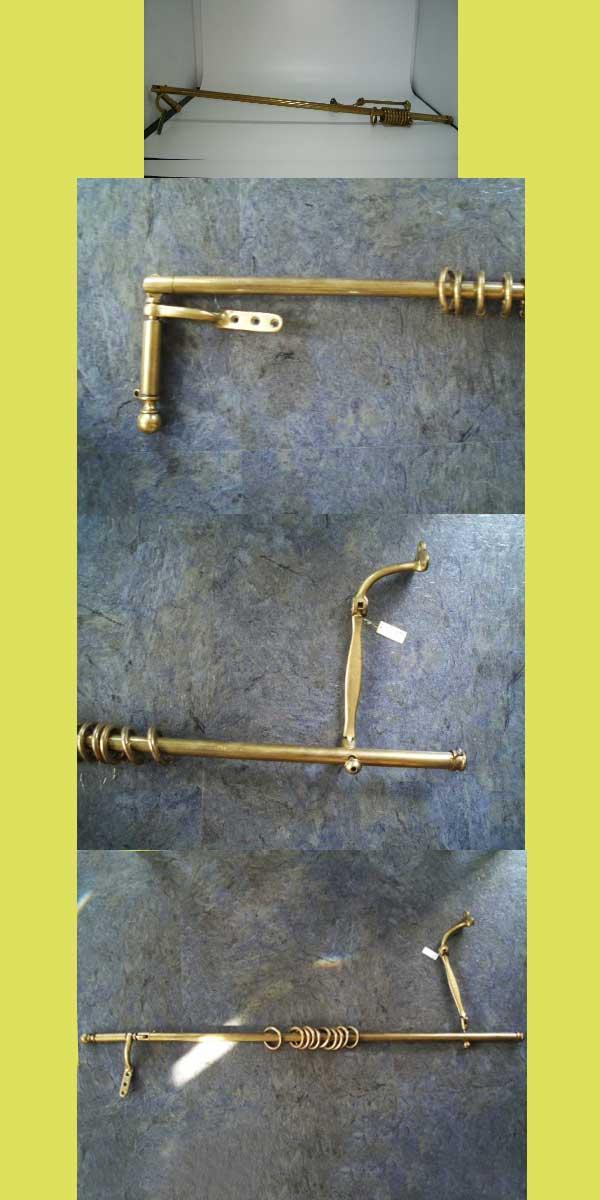 画像2: カーテンレール ドア用 真鋳