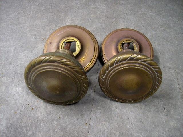 画像1: ドアノブ セット