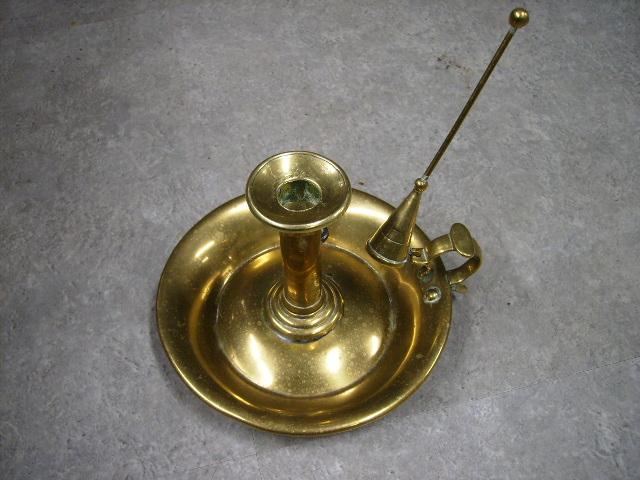 画像1: 真鍮 キャンドルスタンド