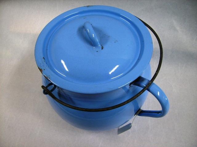 画像3: ホウロウ 容器(蓋付き)