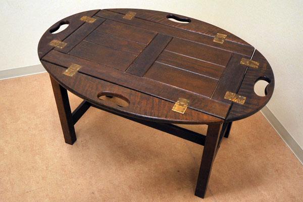 画像4: トレー付テーブル
