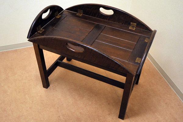 画像1: トレー付テーブル