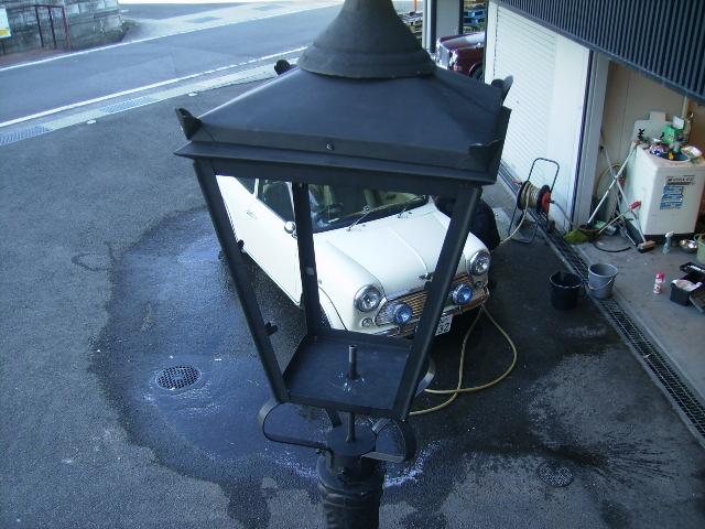 画像3: 街灯(ストリート ランプ) 土台 キャストアイロン