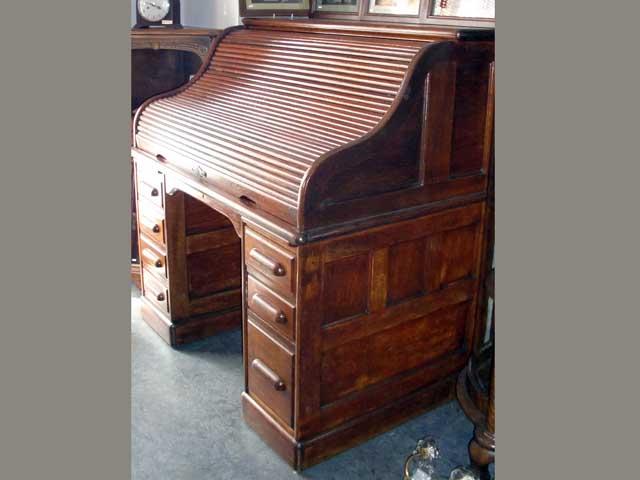 画像2: ダービーデスク(Derby Desk) ロールトップデスク