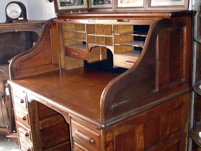 画像3: ダービーデスク(Derby Desk) ロールトップデスク