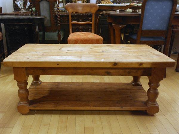 画像1: テーブル オールドパイン