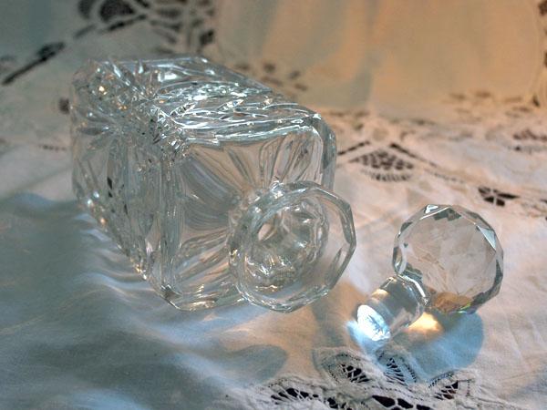 画像3: ウィスキー デカンタ  カットガラス
