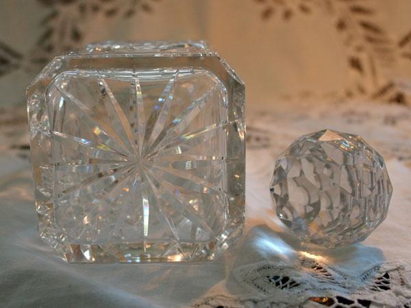 画像5: ウィスキー デカンタ  カットガラス