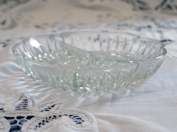 画像3: ビンテージ・ガラス オードブル ディッシュ