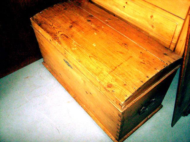 画像1: オールドパイン ブランケット・ボックス