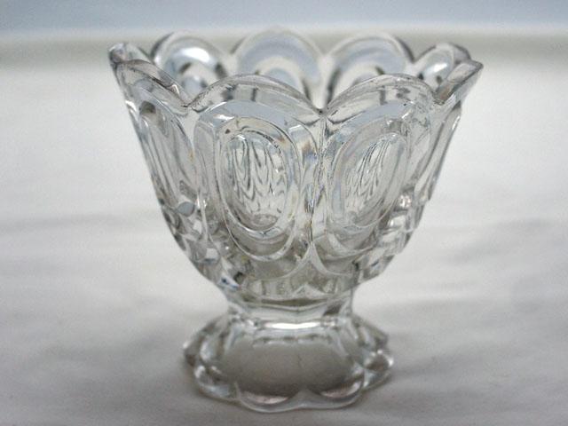 画像1: プレスガラス コンポート