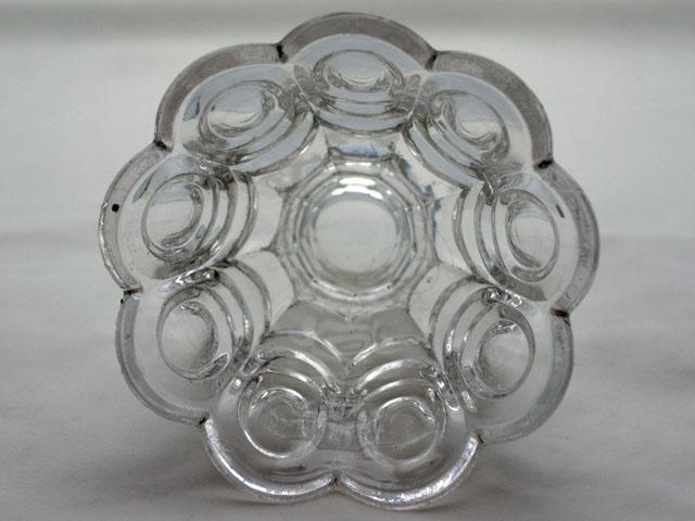 画像2: プレスガラス コンポート
