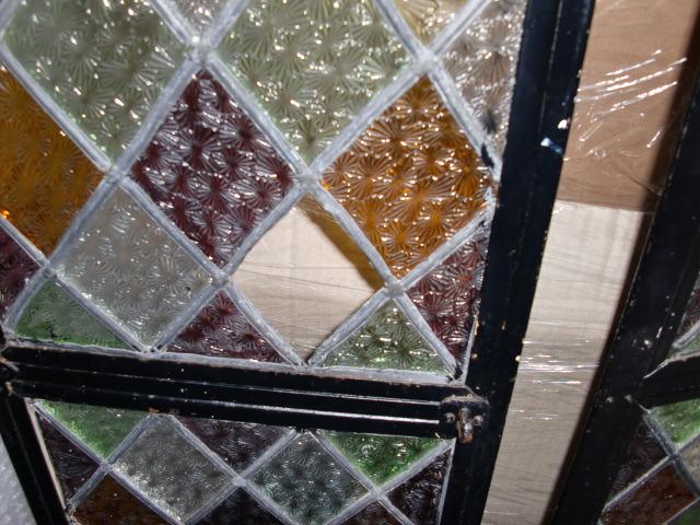 画像4: ステンド入り アイアン ドア