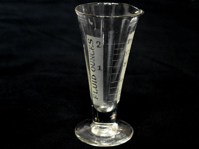 画像1: ガラス コーン メジャーカップ