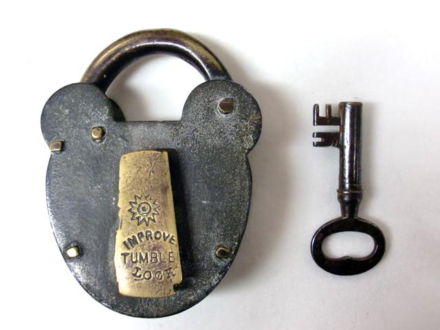 画像5: パドロック キー付き