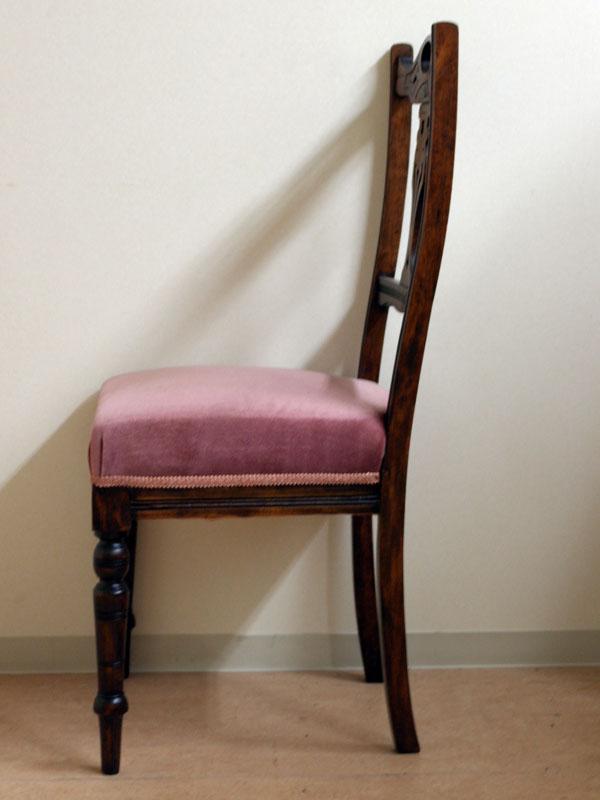 画像3: サロン チェア ピンク